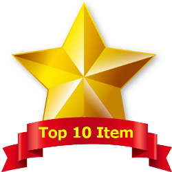 Top 10 Item Badge